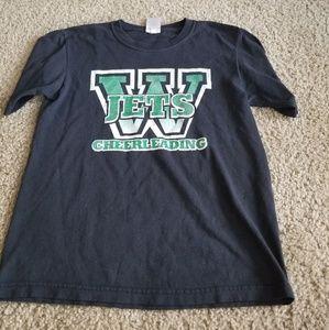 Jerzees Jets Cheerleading t-shirt